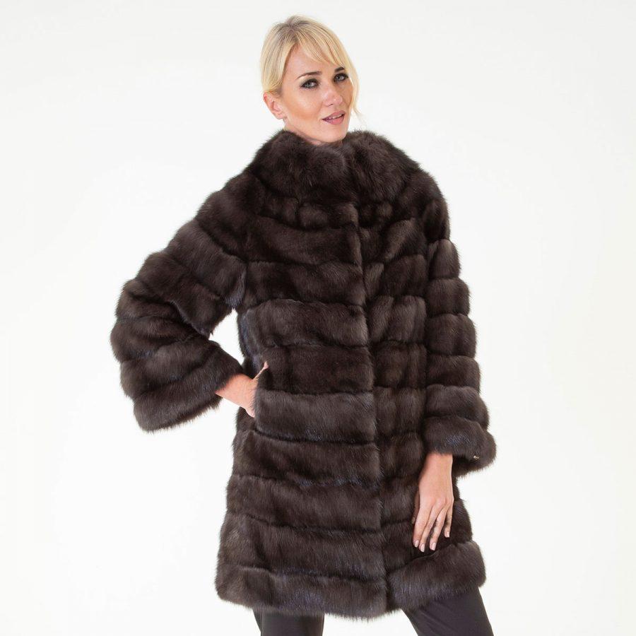Barguzin Sable Fur Jacket | Sarigianni Furs