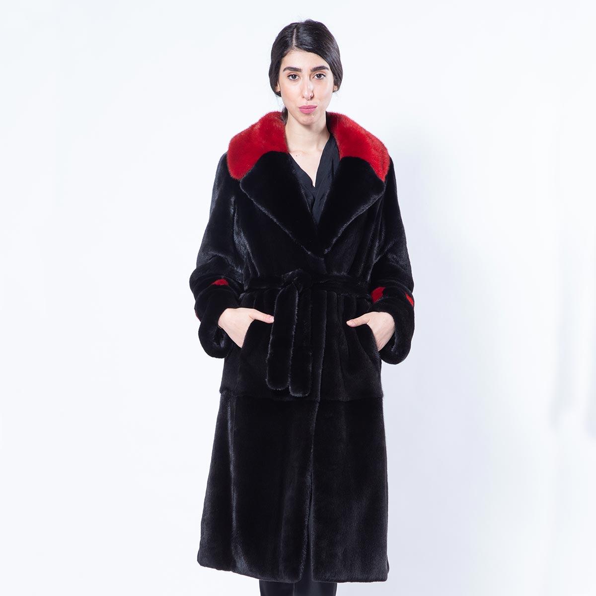 Aurora Blackglama Mink Coat | Sarigianni Furs