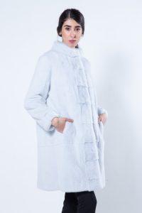 Verde Acqua Mink Fur Jacket | Sarigianni Furs
