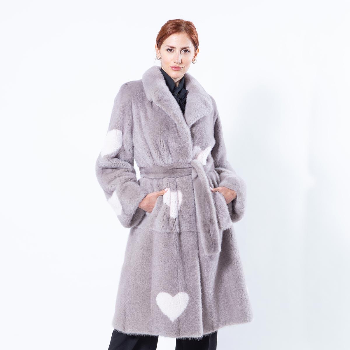Stucco Mink Coat   Sarigianni Furs
