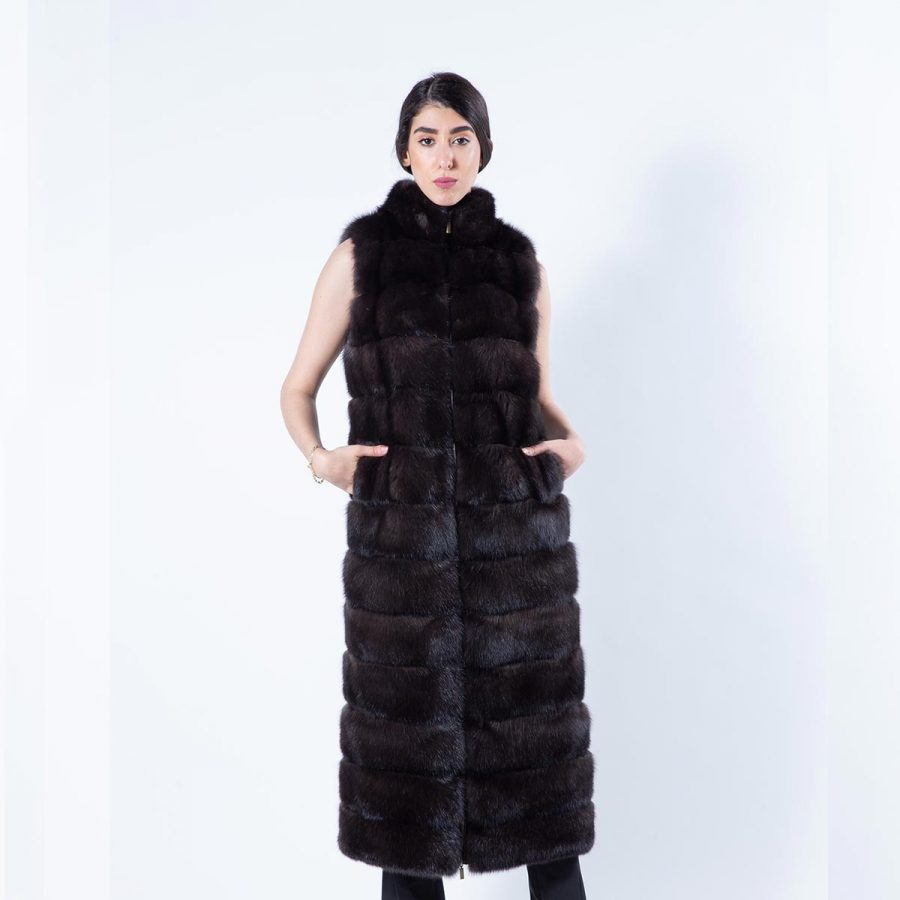 Barguzin Sable Vest | Жилет из баргузинского соболя - Sarigianni Furs